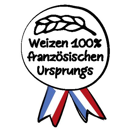 100% französisches Korn