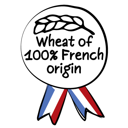100% French wheat