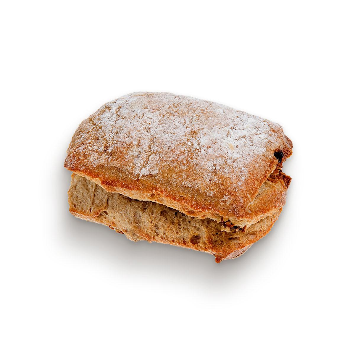 Walnut square roll