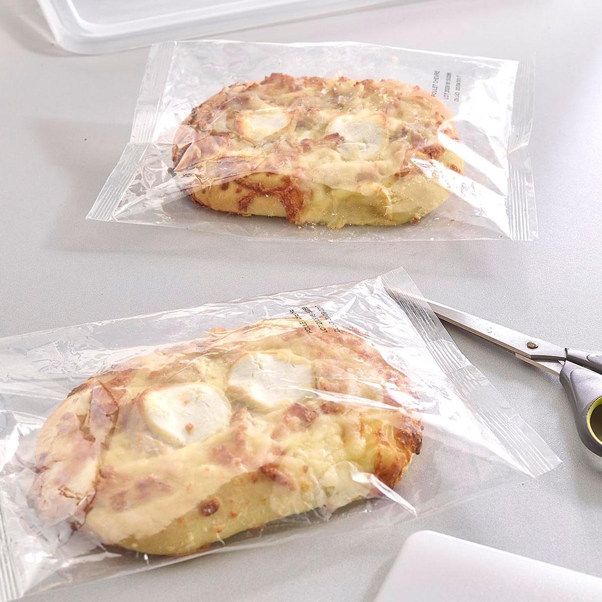 Chicken & goat's cheese fozza