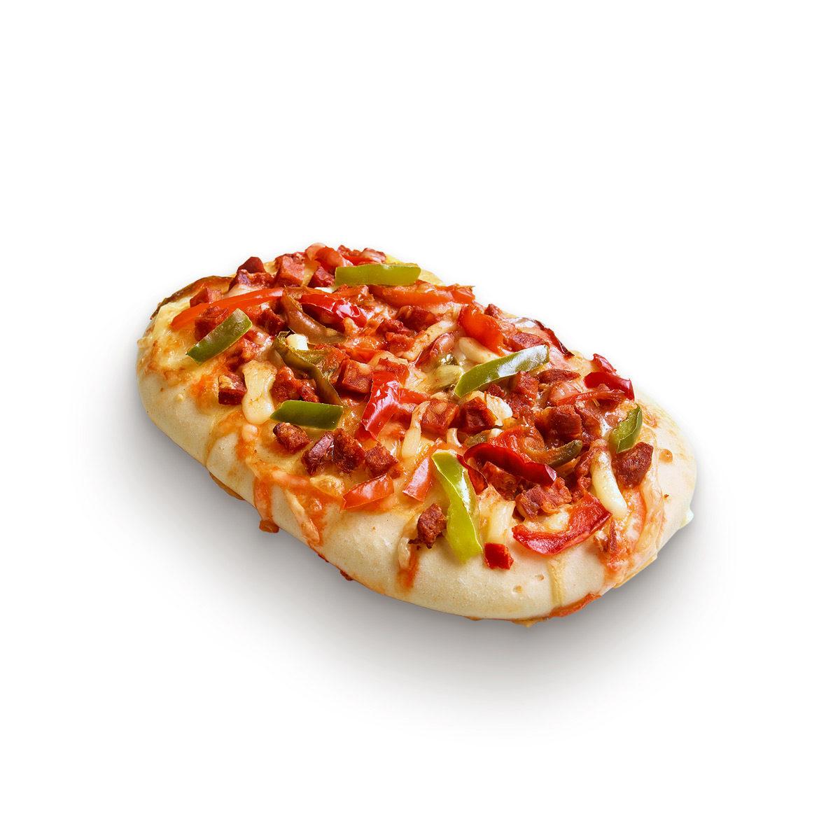 Chorizo and peppers fozza